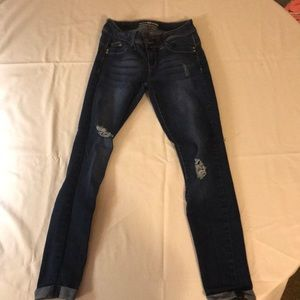 Pants - YMI Jeans with cuffs at bottom (low rise)